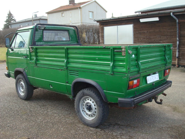Vw 16 Quot Syncro Single Cab Syncro Sika Pritschenwagen For