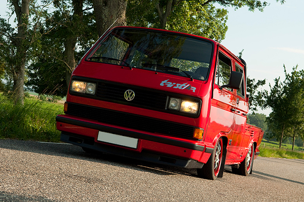 vw tristar with airride, Porsche gearbox, Audi 1,8T engine