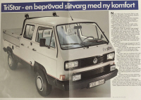 vw tristar syncro brochyre from sweden